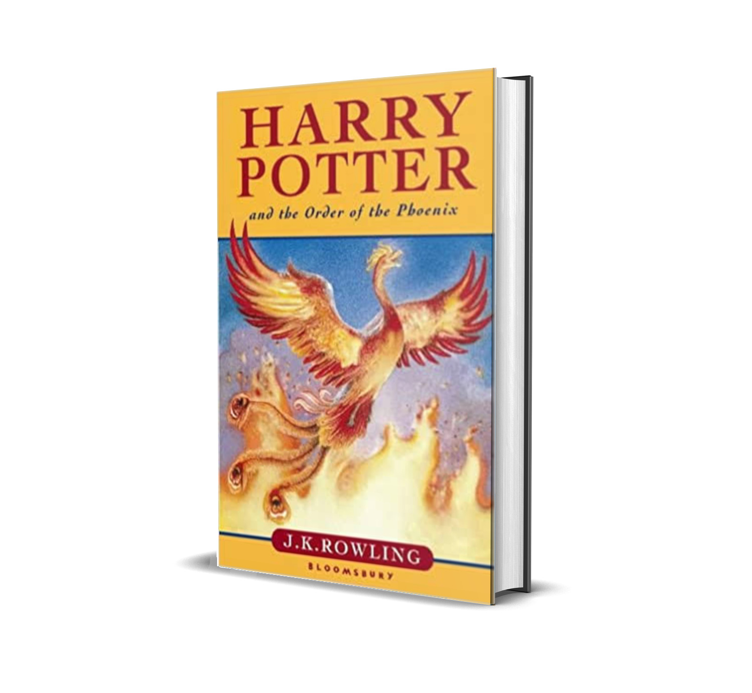 HARRY POTTER AND THE ORDER OF THE PHOENIX J. K ROWLING