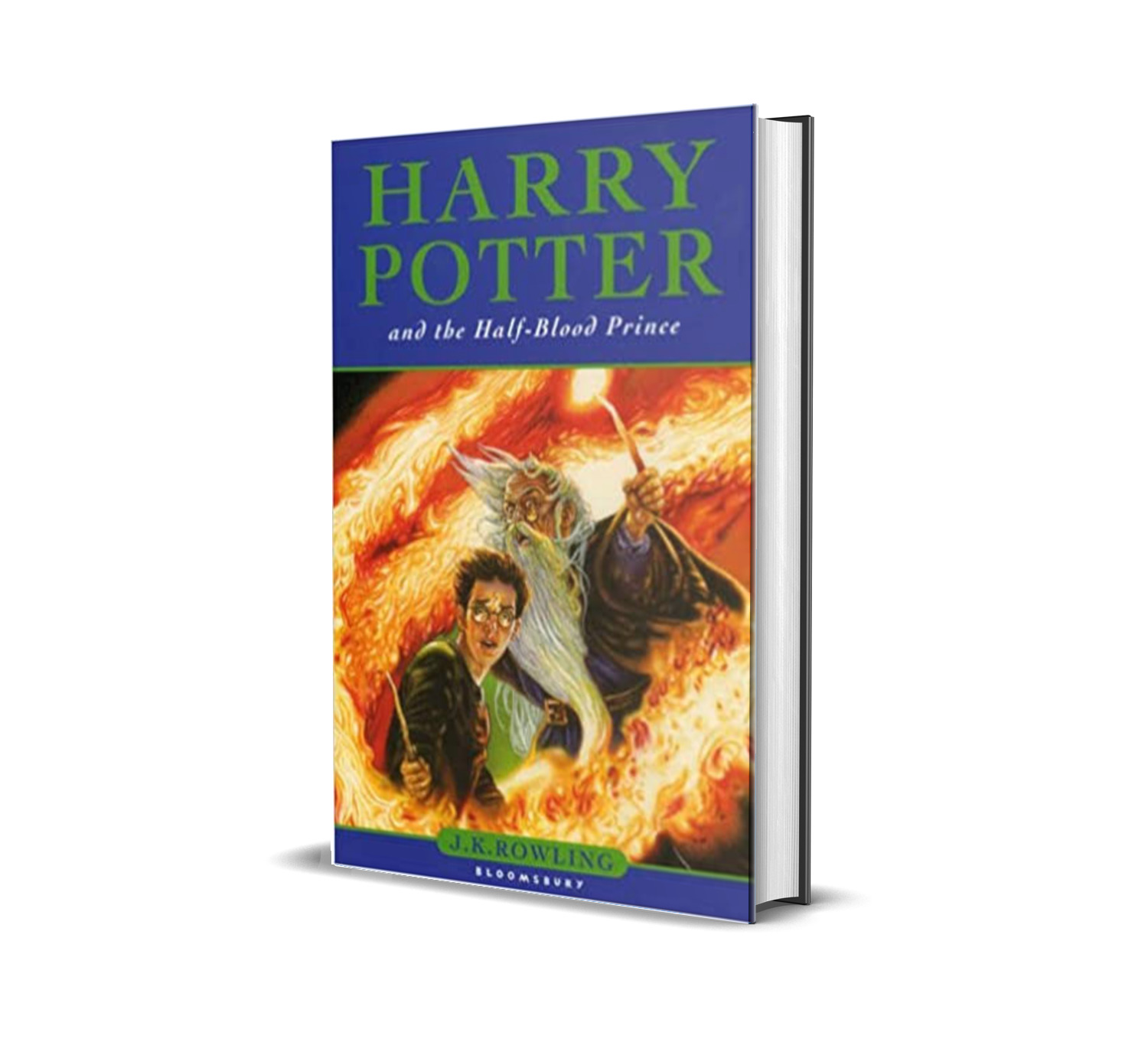 HARRY POTTER AND THE HALF BLOOD PRINCE J. K ROWLING