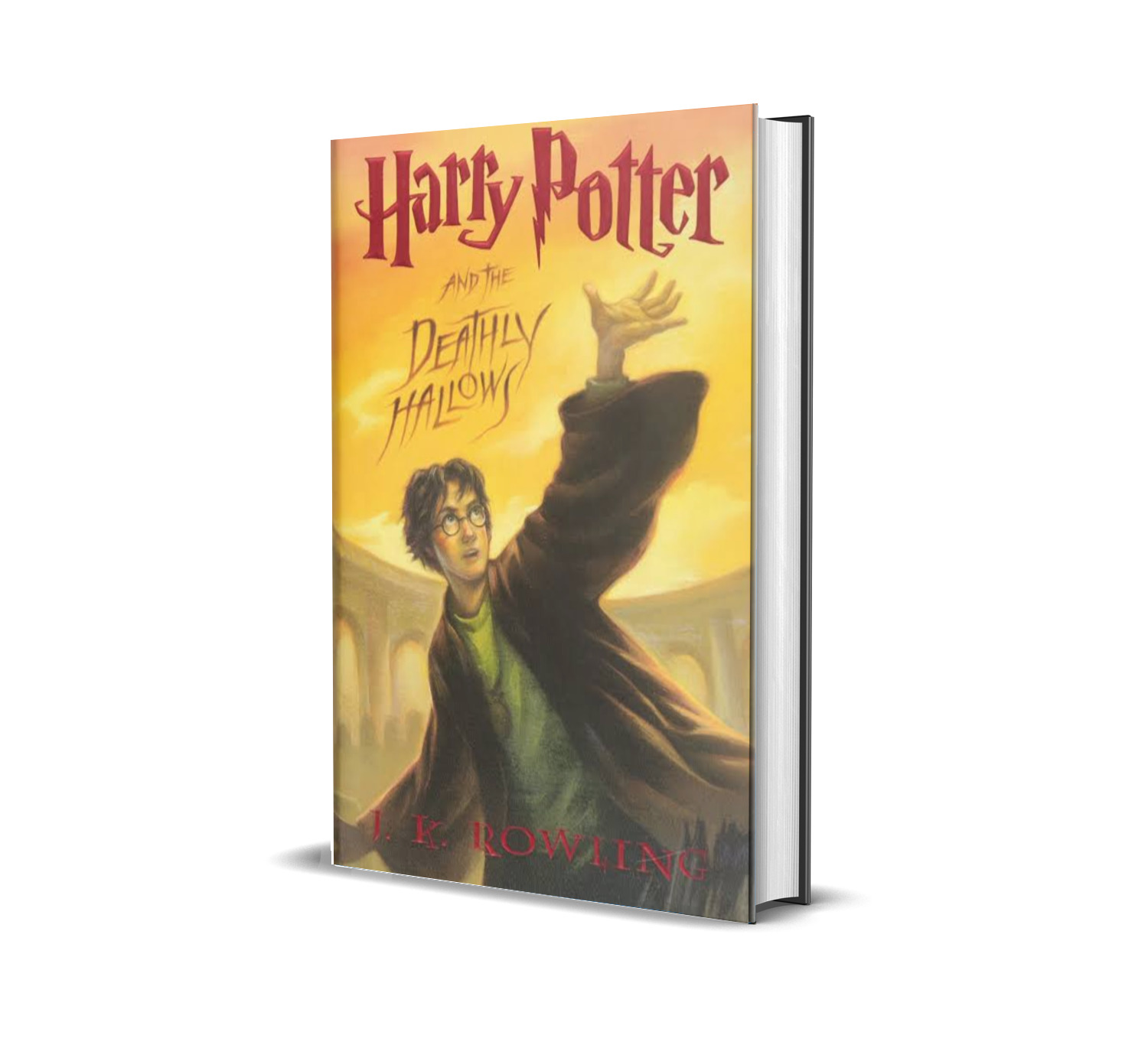 HARRY POTTER AND THE DEATHLY HALLOWS J. K ROWLING