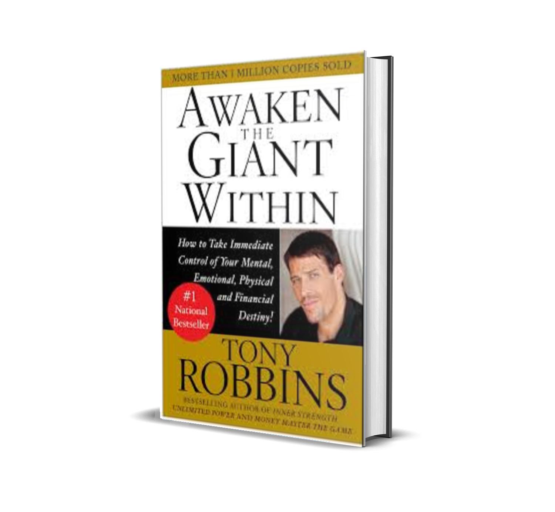 AWAKEN THE GIANT WITHIN -TONY ROBBINS