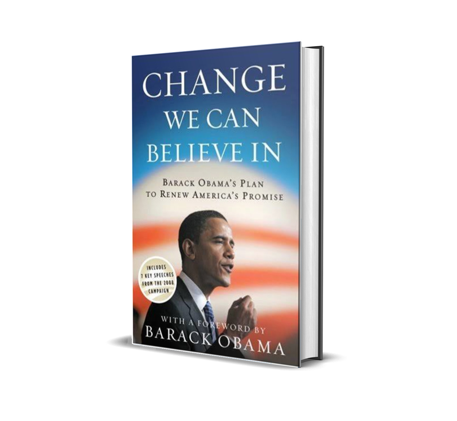 Change we can believe in- Barack Obama
