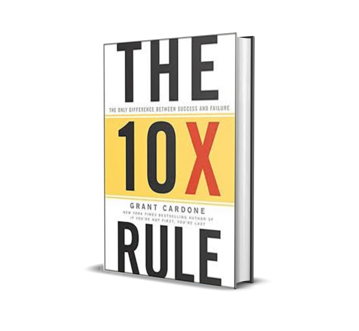 THE 10X RULE : the only difference between success and failure - Grant Cardone