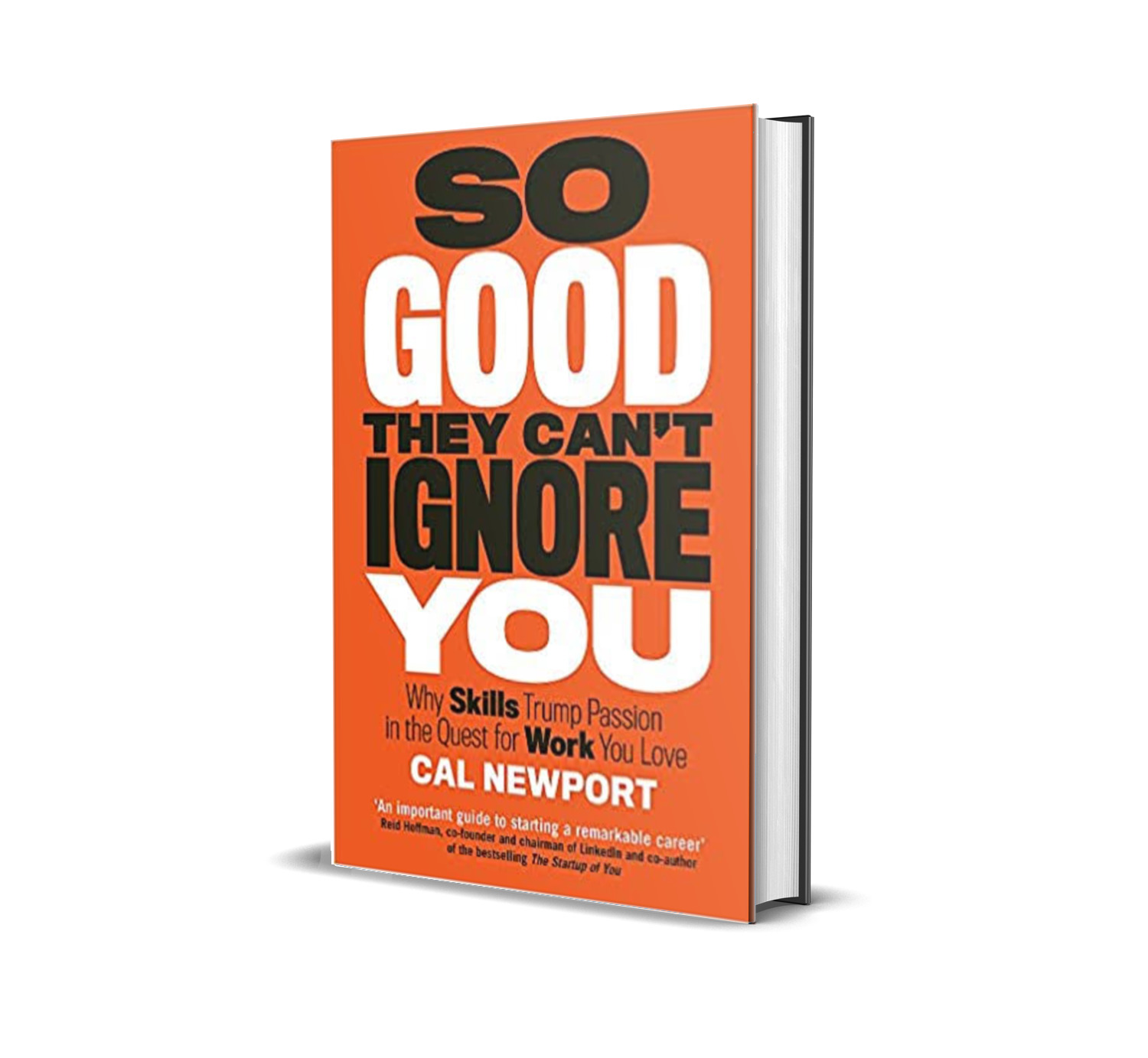 So good they can't ignore you- Cal Newport