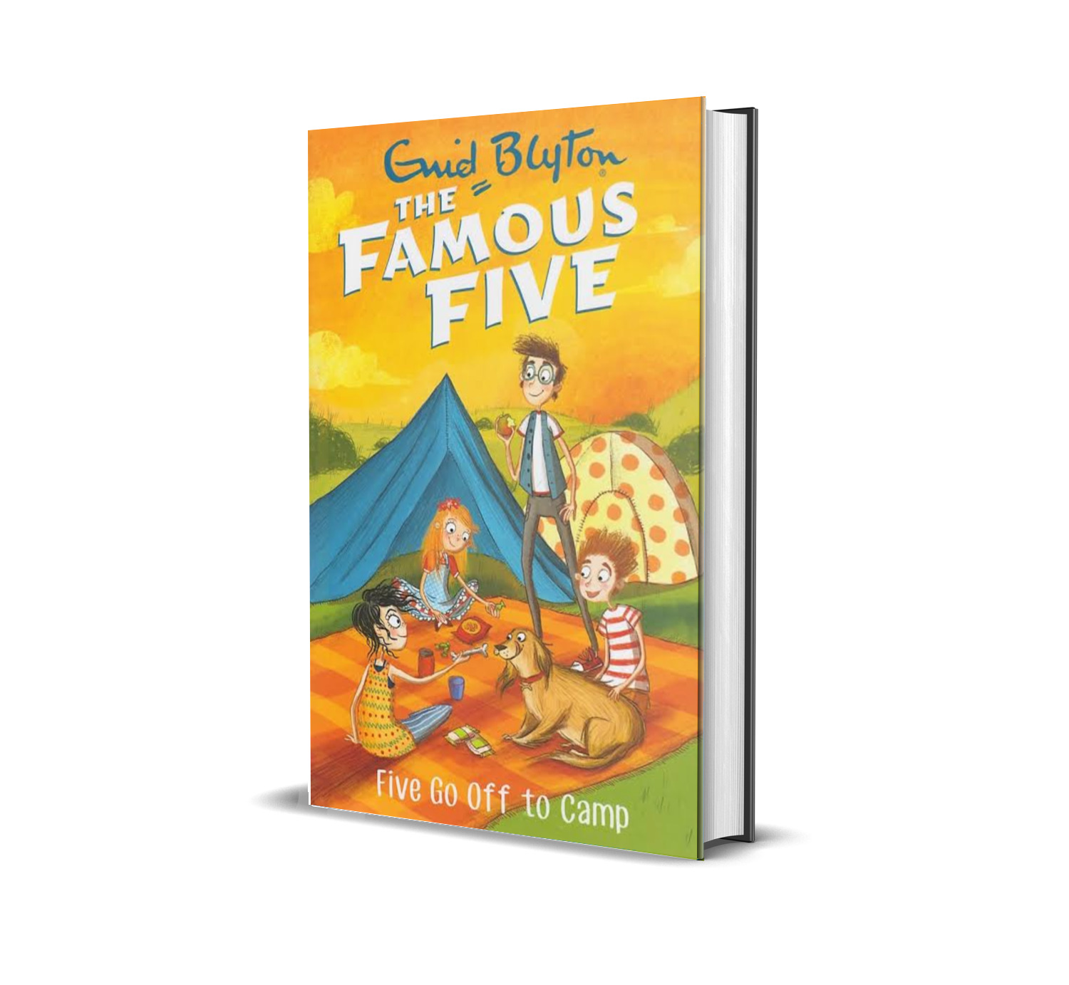 Five go off to camp:the famous five book 7- Enid Blyton