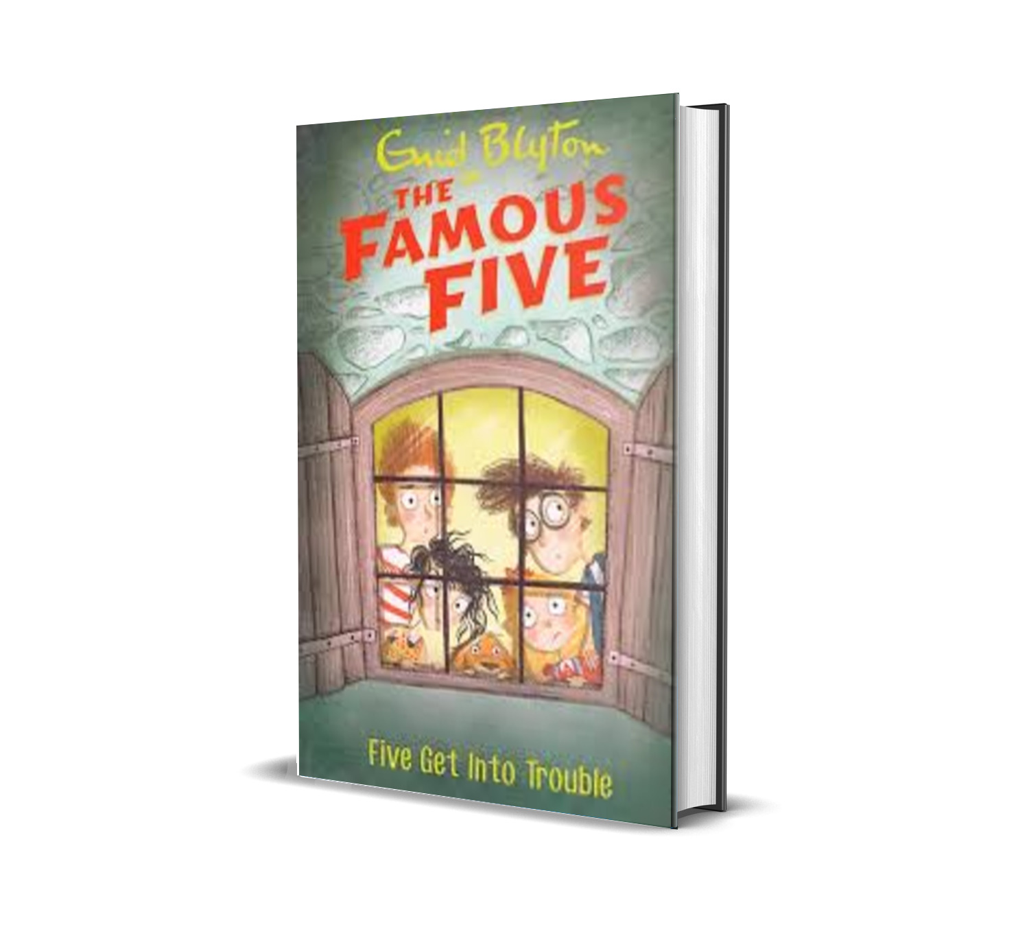 Five get into trouble:the famous five book 8- Enid Blyton