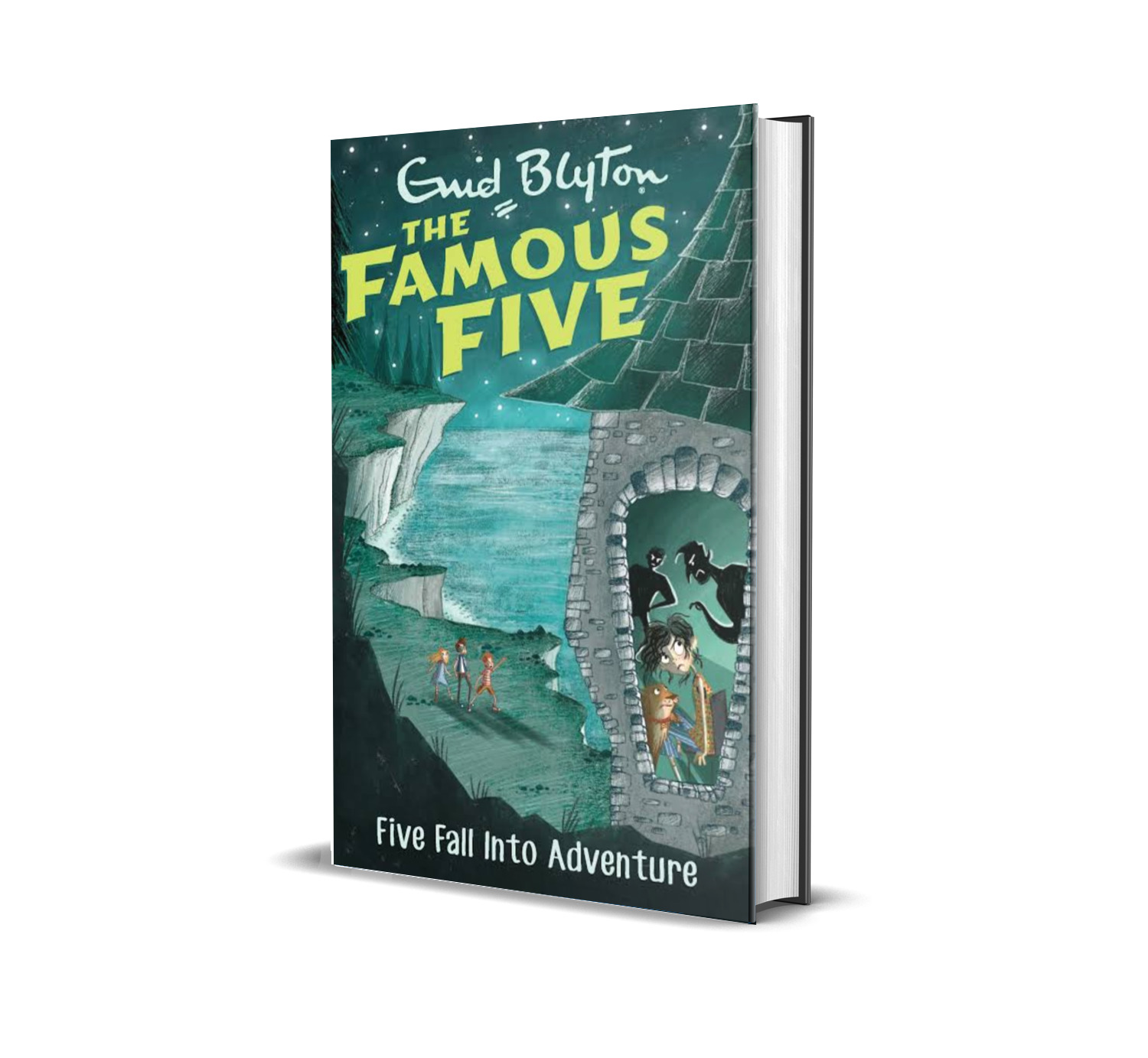 Five fall into adventure:the famous five book 9- Enid Blyton