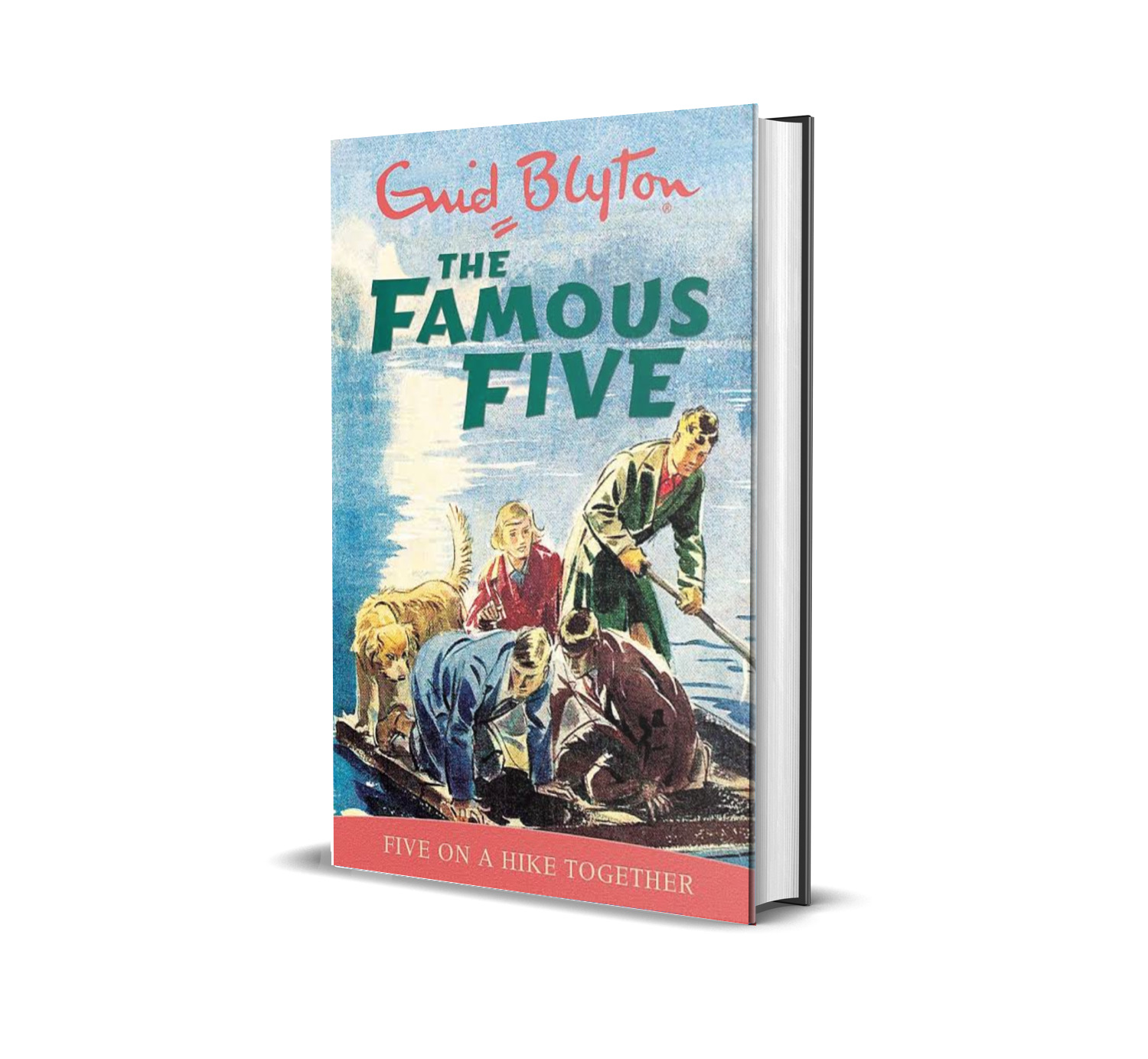 Five on a hike together:the famous five book 10- Enid Blyton