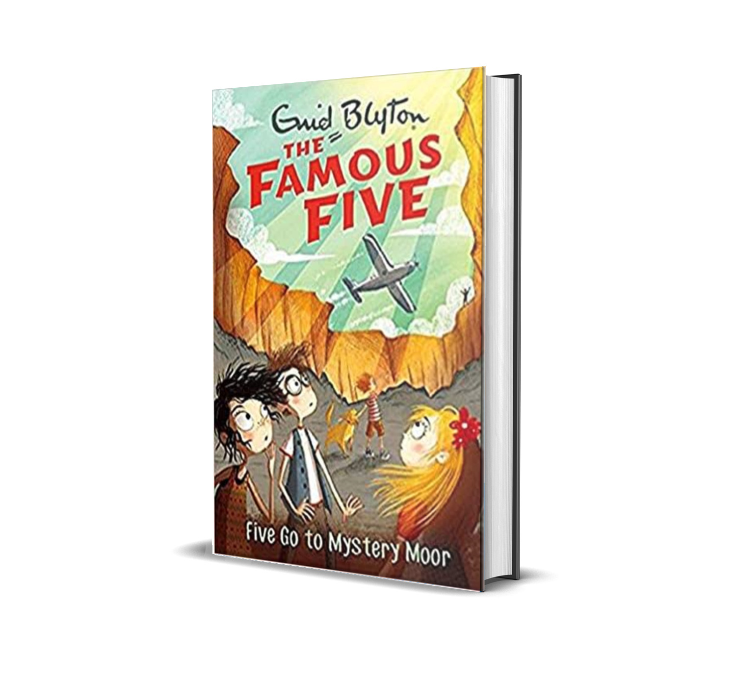 Five go to mystery moor:the famous five book 13- Enid Blyton