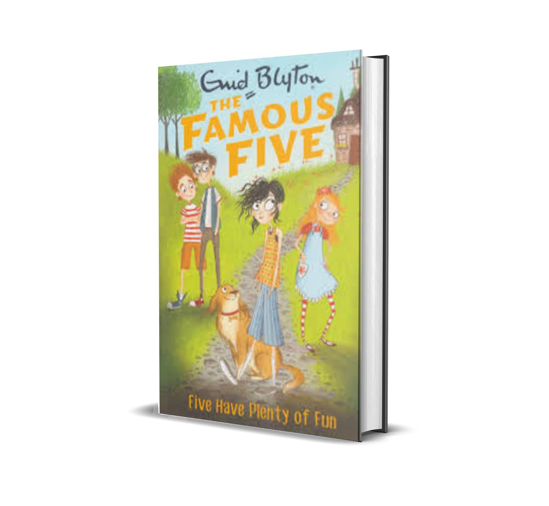 Five have plenty of fun:the famous five book 14- Enid Blyton