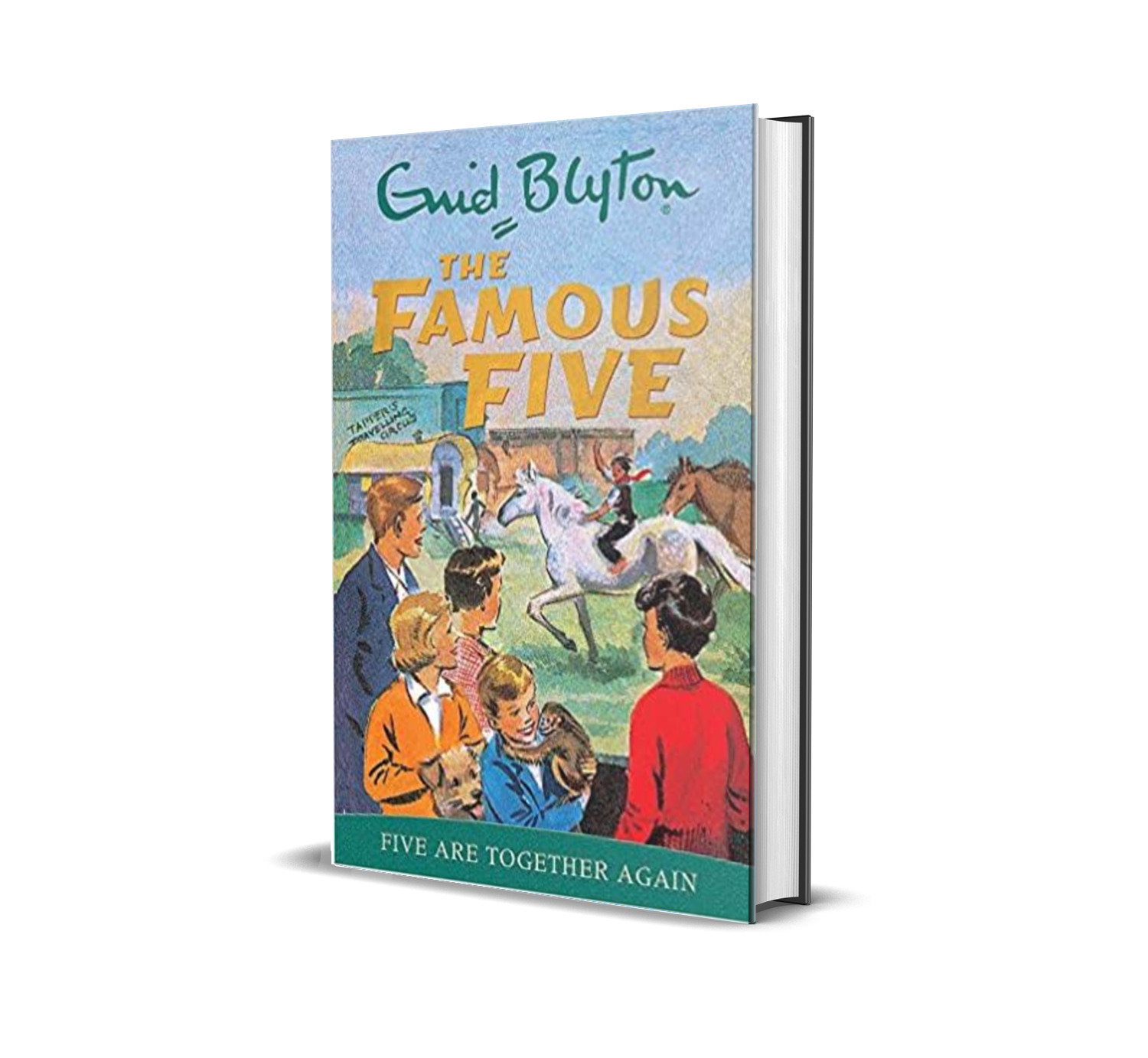 Five are together again:the famous five book 18- Enid Blyton