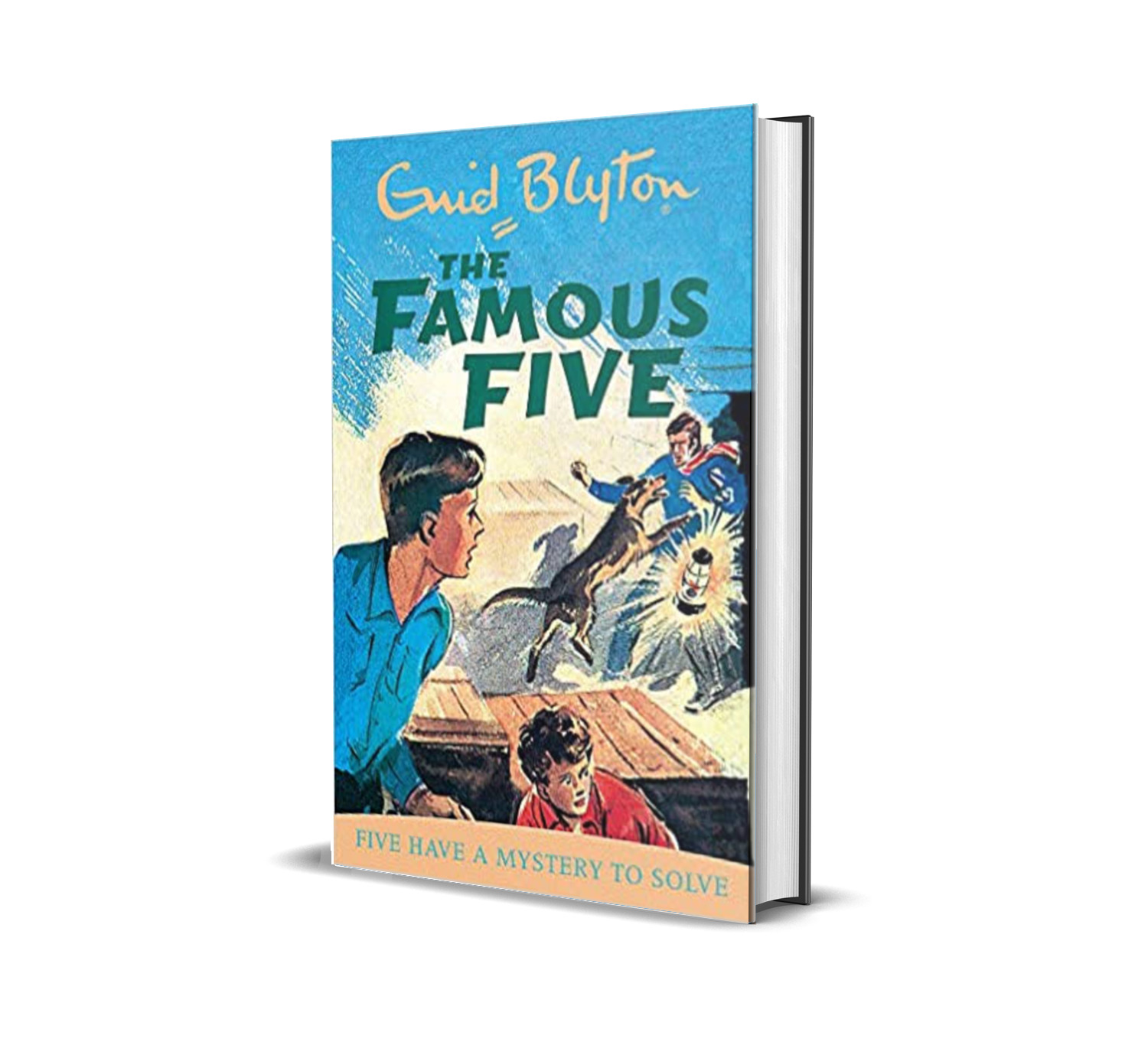 Five have a mystery to solve:the famous five book 20- Enid Blyton