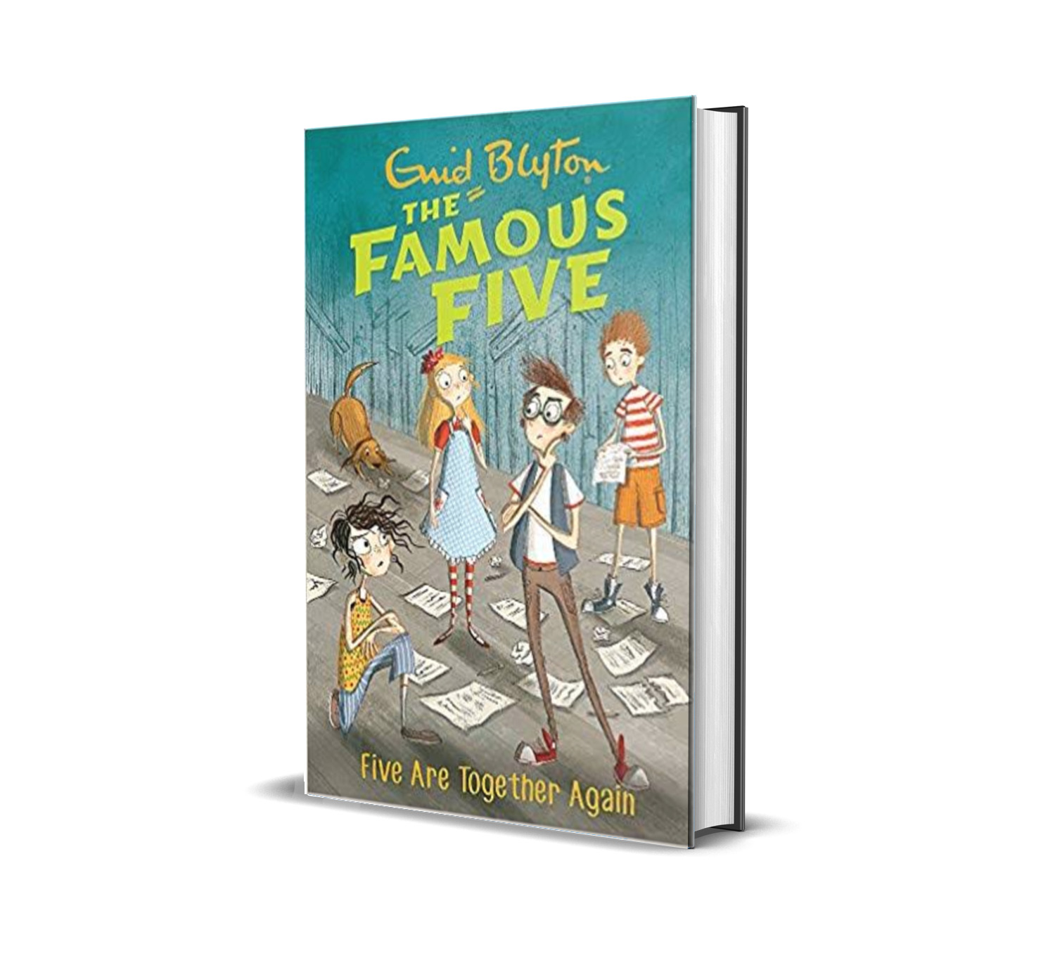 Five are together again:the famous five book 21- Enid Blyton