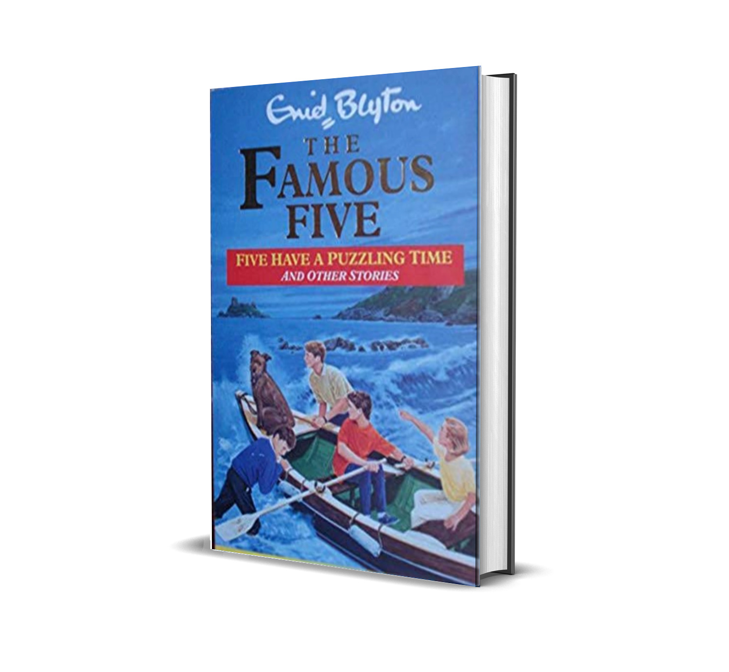 Five have a puzzling time and other stories:the famous five book 22- Enid Blyton