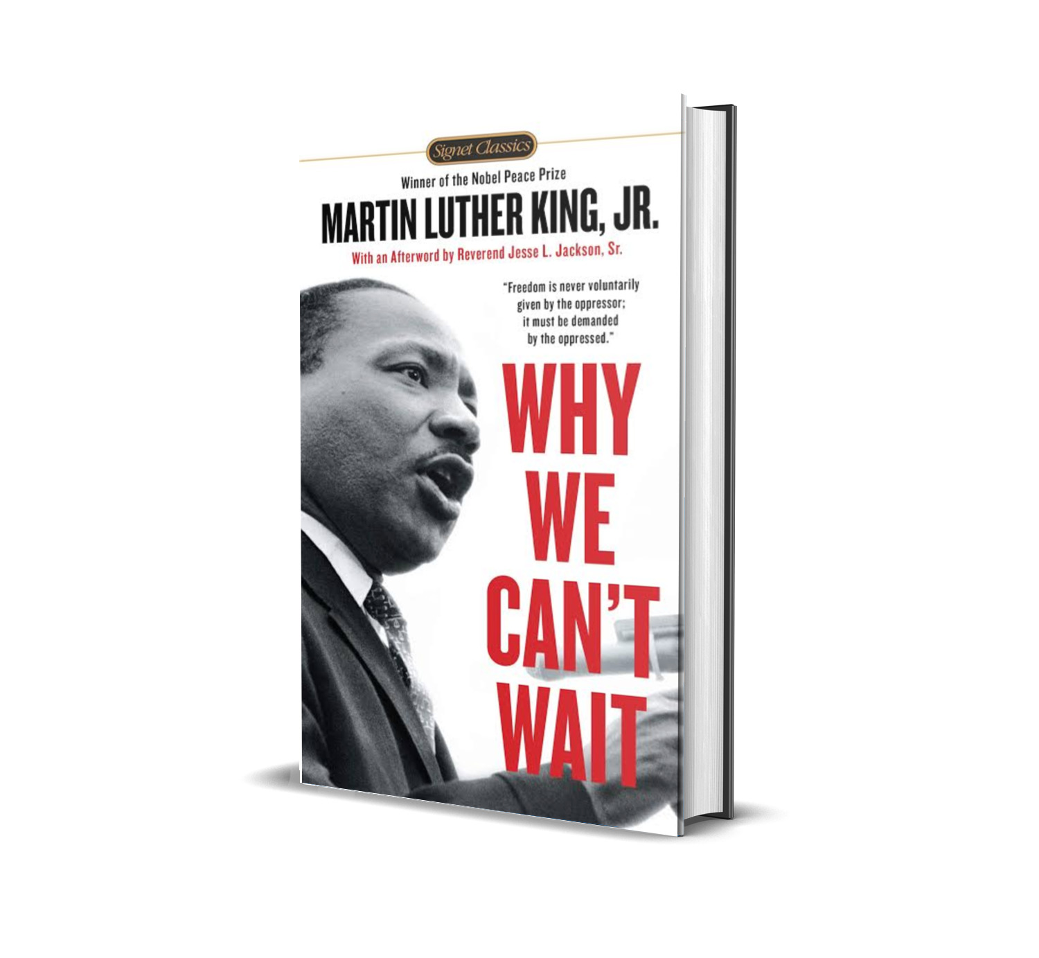 Why we can't wait- Martin Luther King Jr