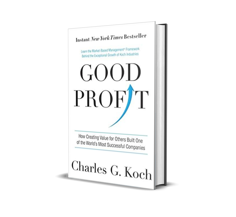 Good profit- Charles Koch