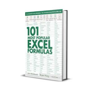 101 Most Popular Excel Formulas – Bryan Hong