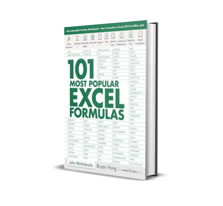 20 Most Popular Excel Formulas – Bryan Hong – PDF MART