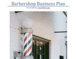 Executive Barber Shop Business Guide