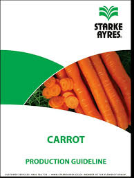 CARROT PRODUCTION GUIDELINES