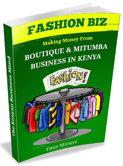 FASHION BUSINESS IN KENYA TITUS MIRIERI